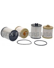 WIX FILTERS 33950 Filtr paliwa Ford Superduty PU w/6.4L Powerstroke diesel (08-10), IHC Trucks - (has two different size elements in one box - smaller one is a fuel-water seperator - the larger element is the standard fuel )