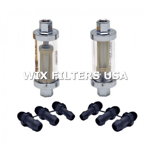 wix filters 33981 filtr paliwa universal in line fuel filter housingwix filters 33981 filtr paliwa universal in line fuel filter housing for motorcycle, atv mower applications includes in line housing w plastic mesh