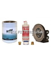 WIX FILTERS ACK10 Absorber AquaChek Water Removal Kit - contains: Mounting Base with 1/4 inlet + outlet, 2 Brass Plugs for Base, One AquaChek Spin-on Filter (Part # AC10), One 4 oz. bottle of pneumatic lubricating oil, Teflon tape