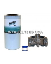 WIX FILTERS ACK20 Absorber AquaChek Water Removal Kit - contains: Mounting Base with 1 inlet + outlet, One AquaChek Spin-on Filter (Part # AC20), Teflon tape