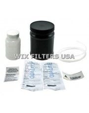 WIX FILTERS 24078 Akcesoria Oil Analysis Kit---Contains sample bottle for used oil, request sheet, mailer box, 3 ft length of 1/4 inch plastic tubing and instructions.