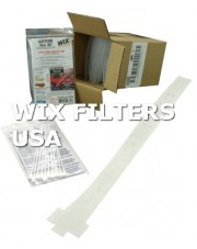WIX FILTERS 24382 Akcesoria Gasoline test kit - test for water and oxidized (stale) fuel - instructions included (not for diesel - gasoline only - for diesel use 24383) 10 Swabs per pack, 12 packs per box.