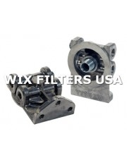WIX FILTERS 24076 Głowica Remote Mounting Base - Accepts 3/4-16 Threaded Filters. Dual Inlet/Outlet with 1/4-18 NPT Threads.