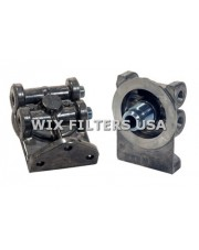 WIX FILTERS 24081 Głowica Remote Mounting Base - Accepts 1-12 Threaded Filters. Duel Inlet/Outlet with 1/4-18 NPT Threads - includes 2 plugs