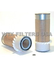 WIX FILTERS 42321 Filtr powietrza Allis-Chalmers, Case, Cat, Ingersoll-Rand, Massey-Ferguson, John Deere, Kobelco, Other (Outer used w/46522 or 46514 or 42679 or 42924) - if outer filter needed w/o the fins, use 49420