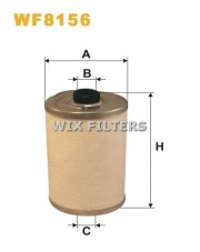 WIX FILTERS WF8156 Filtr paliwa Auwaerter, Droegmoeller, Evobus, Ikarus, Kaessbohrer, Liebherr, Mercedes, Neoplan, Atlas Copco, Claas, Mercedes, New Holland, Schanzlin, Werner WF Trac- MERCEDES-BENZ 925405