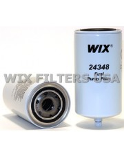 WIX FILTERS 24348 Filtr paliwa Spin-On Filter for Fuel Pumps with Drain.
