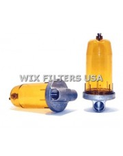 WIX FILTERS 24380 Filtr paliwa Goldenrod FW Separator Housing - Has 1 NPT on Inlet & Outlet - Elements for Housing are 24043 or 24042 (housing does not include the element - elements sold separately)