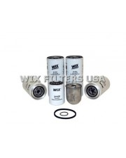 WIX FILTERS 24536 Filtr oleju Mack Fleet Maintenance Kit Contains: (1) 24428, (1) 33218, (1) 33219, (2) 51791 (1) 51417