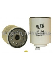 WIX FILTERS 33184 Filtr paliwa 33411 with sensor port and drain - can be used in place of 33231 or 33232 - Has 9/16 - 18UNF-2B sensor port thread (33611 has slightly different sensor port thread)